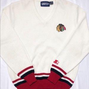Vintage Starter Chicago Blackhawks sweater